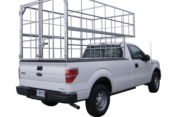 Pickup Truck Tire Cage, 100 Tires