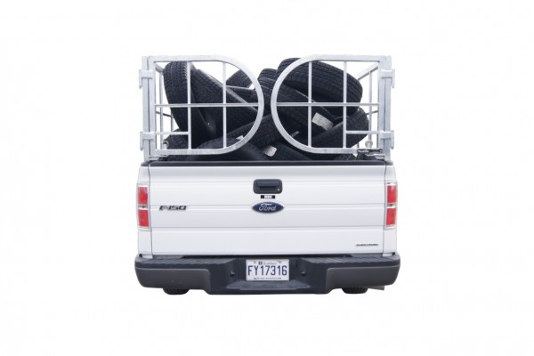 Pickup Truck Tire Cage, 50 Tires