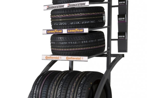 Showroom Tire Display